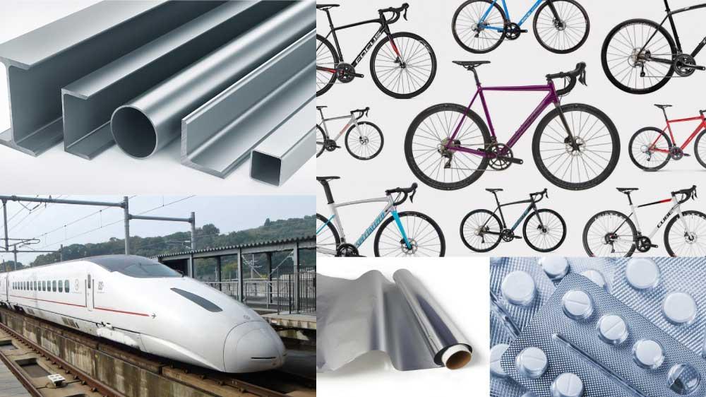 aluminum uses