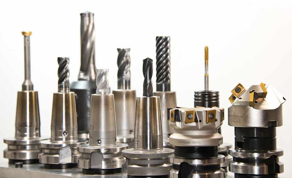 tools used in a machine shop