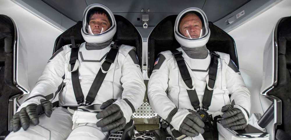 spacex crew dragon robert behnken doug hurley
