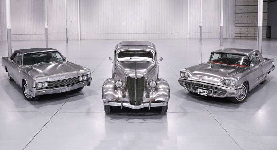 stainless steel cars collection
