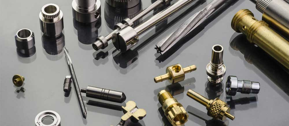 swiss machined components