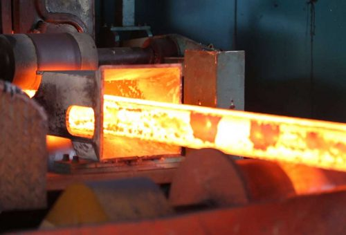 heat treating metal rod