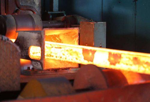 heat treating metal rod