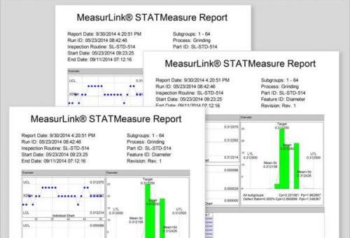cnc machin quality report